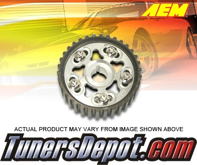 AEM® Adjustable Cam Gear (Silver) - 01-05 Honda Civic SOHC D17