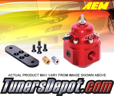 AEM® Adjustable Fuel Pressure Regulator (Silver) - Universal
