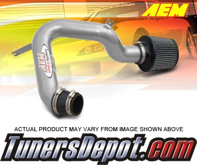 AEM® Cold Air  Intake System (Silver) - 01-05 Honda Civic Dx, Lx (M/T Only)