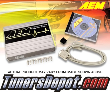 AEM® Plug & Play Engine Management ECU - 00-02 Mitsubishi Eclipse RS and GS 2.4L (MT Only)