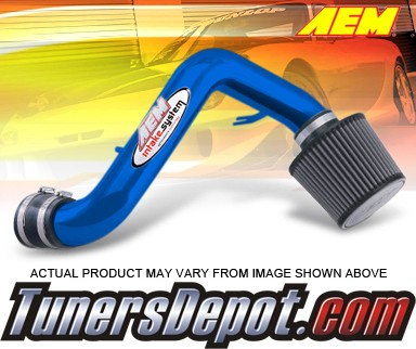 AEM® Short Ram Induction Air Intake System (Blue) - 88-91 Honda Civic EX and Si