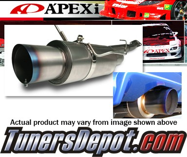 APEXi® N-1 Ex Ti Exhaust System - 03-09 Nissan 350Z