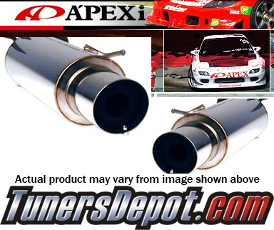 APEXi® N1 Exhaust System - 92-95 Honda Civic Coupe DX