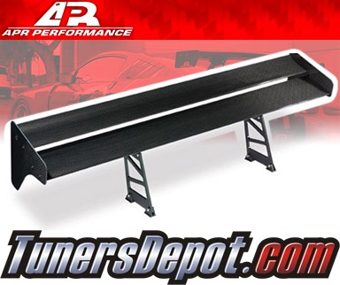 APR® Adjustable Spoiler Wing (CARBON) - EVO GT-II (Universal)