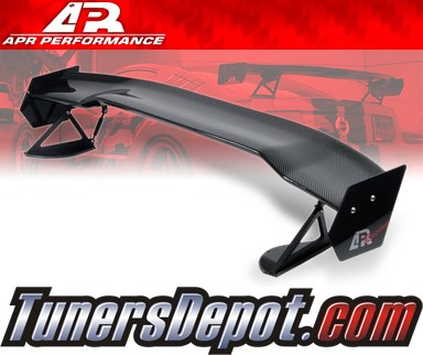 APR® Adjustable Spoiler Wing (CARBON) - GTC-200 - 08-10 Mitsubishi Lancer EVO X