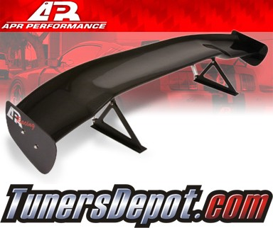 APR® Adjustable Spoiler Wing (CARBON) - GTC-200 - 96-04 Ford Mustang