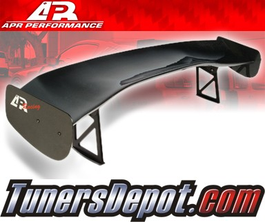 APR® Adjustable Spoiler Wing (CARBON) - GTC-300 (61&quto;) - 02-07 Subaru Impreza WRX incl. Sti