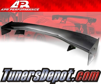 APR® Adjustable Spoiler Wing (CARBON) - GTC-300 (61&quto;) - 03-08 Infiniti G35 Coupe