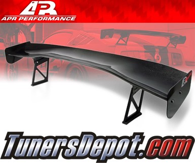 APR® Adjustable Spoiler Wing (CARBON) - GTC-300 (67