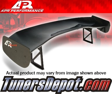 APR® Adjustable Spoiler Wing (CARBON) - GTC-300 (67&quto;) - 05-09 Ford Mustang