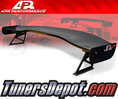 APR® Adjustable Spoiler Wing (CARBON) - GTC-500 - 05-10 Chevy Corvette C6