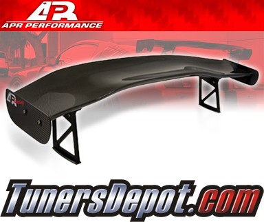 APR® Adjustable Spoiler Wing (CARBON) - GTC-500 - 93-97 Mazda RX-7 RX7