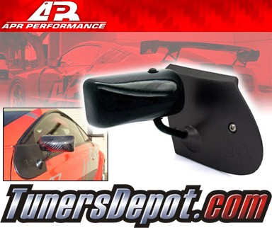 APR® Formula GT3 Carbon Fiber Side View Mirrors - 00-05 Toyota Celica (Black Base)