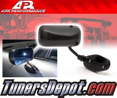 APR® Formula GT3 Carbon Fiber Side View Mirrors - 00-09 Honda S2000 (Black Base)