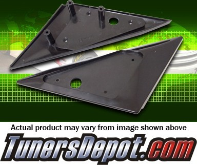 Aftermarket Side View Mirrors Base Plates- 91-96 Hyundai Tiburon (Mirrors not included)
