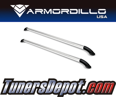 Armordillo USA® AR LOCKER STYLE Bed Rails (Silver) - 04-14 Ford F-150 Long Bed