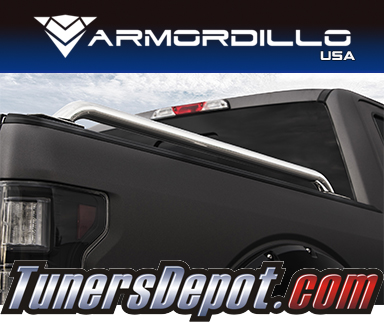 Armordillo USA® CLASSIC STYLE Bed Rails (Polished) - 14-18 Chevy Silverado Long Bed