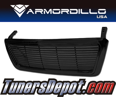 Armordillo USA® Horizontal Style Grill (Gloss Black) - 04-08 Ford F-150
