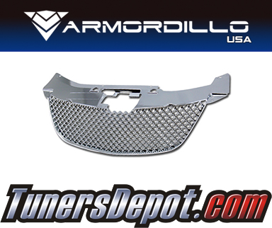 Armordillo USA® Mesh Style Grill (Chrome) - 07-10 Chrysler Sebring