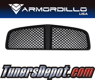 Armordillo USA® Mesh Style Grill (Gloss Black) - 05-10 Dodge Charger