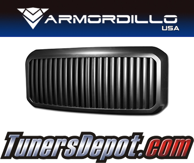 Armordillo USA® Vertical Style Grill (Black) - 11-16 Ford F-250 Super Duty