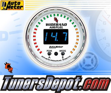 Autometer® 2-1/16&quto; C2 Gauge - Air Fuel Ratio (Wideband) (Digital) : Lean - Rich