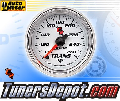 Autometer® 2-1/16&quto; C2 Gauge - Transmission Temp (Electric) : 100-260 F