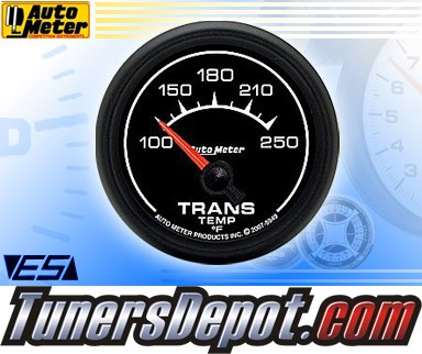 Autometer® 2-1/16&quto; ES Gauge - Transmission Temp (Short Sweep Electric) : 100-250 F
