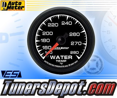 Autometer® 2-1/16&quto; ES Gauge - Water Temp (Mechanical) : 140-280 F