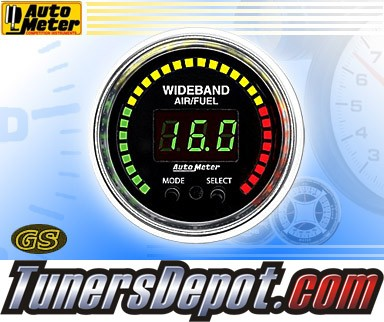 Autometer® 2-1/16&quto; GS Gauge - Air - Fuel Ratio (Wideband) (Electric) : Lean - Rich