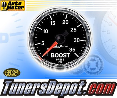Autometer® 2-1/16&quto; GS Gauge - Boost (Mechanical) : 35 PSI