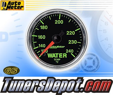 Autometer® 2-1/16&quto; GS Gauge - Water Temp (Mechanical) : 120-240 F