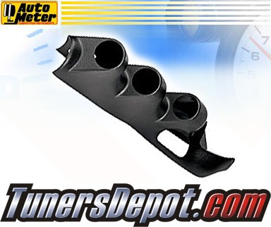 Autometer® 2-1/16&quto; Triple Pillar Pod - 08-09 Ford F-250 F250 Superduty