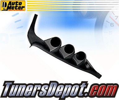 Autometer® 2-1/16&quto; Triple Pillar Pod - 92-95 Honda Civic 2/3dr.