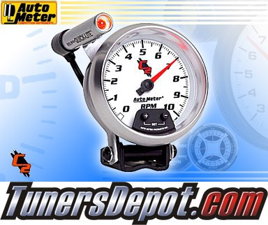 Autometer® 3-3/8&quto; C2 - Tachometer (External LED Mini Quick Lite) : 10K RPM