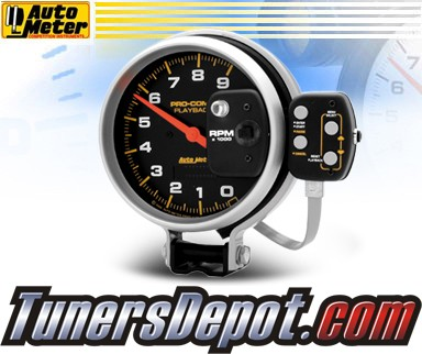 Autometer® 5&quto; PRO-COMP - Tachometer (4 Stage Shift Lite w/ Playback) : 9K RPM