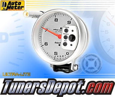Autometer® 5&quto; ULTRA-LITE - Tachometer (2 Range w/ Memory and 2 Stage Shift Lite) : 9K RPM