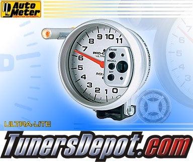Autometer® 5&quto; ULTRA-LITE - Tachometer (2 Stage Shift Lite and Memory) : 11K RPM
