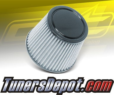 CPT Universal Stainless Steel Air Filter (Black) - 2.5