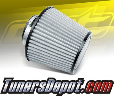 CPT Universal Stainless Steel Air Filter (Black) - 2.75