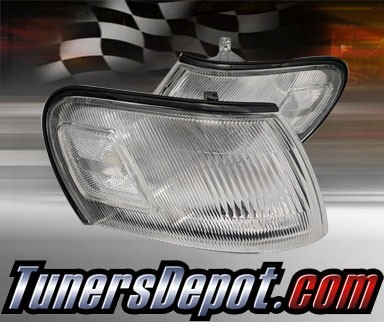 Clear Corner Lights - 93-97 Toyota Corolla