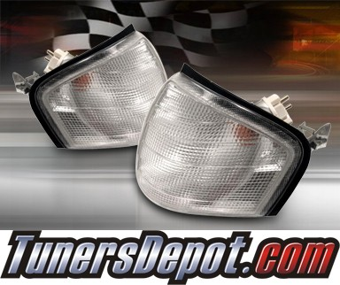 Clear Corner Lights - 94-00 Mercedez-Benz C240 W202
