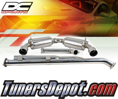 DC Sports®s® Stainless Steel Cat-Back Dual Exhaust System - 13-14 Scion FR-S