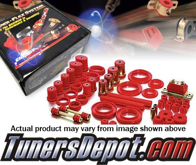 Energy Suspension® Hyper-Flex Bushing Kit - 01-04 Toyota Tacoma 4WD