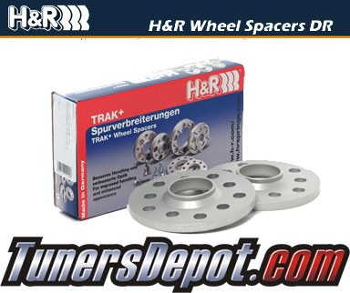 H&R® DRA Series Trak+ Wheel Spacer 25mm (Pair) - 89-91 Audi 90 Quattro 20V Coupe