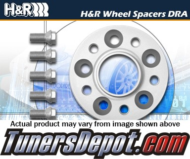 H&R® DRA Series Trak+ Wheel Spacer 25mm (Pair) - 98-05 VW Passat Sedan VR6, TDi, 1.8T, 2.0L, W8