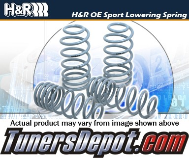 H&R® OE Sport Lowering Springs - 03-07 Honda Accord 4dr, 4 cyl