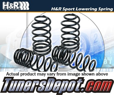 H&R® Sport Lowering Springs - 2012 Mercedes-Benz C63 AMG 2dr Coupe W204