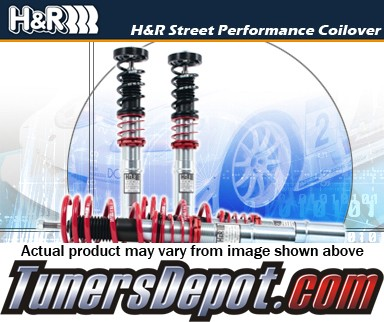 H&R® Street Performance Coilovers - 02-10 Audi A4 Cabrio 2WD, AWD, Typ 8H, 4 cyl, 6 cyl