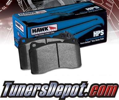 HAWK® HPS Brake Pads (REAR) - 89-93 Nissan 240SX SE without ABS